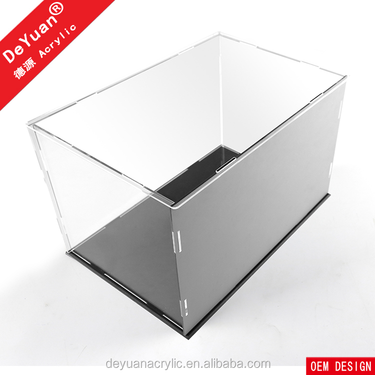 Gold Riser Basketball Display Case With Mirror Back Deluxury