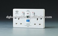 0230SPW RCD electrical switch & socket