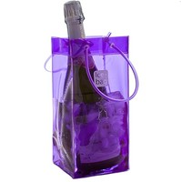 PG324 Wholesale Useful Clear Ice Bag Wine