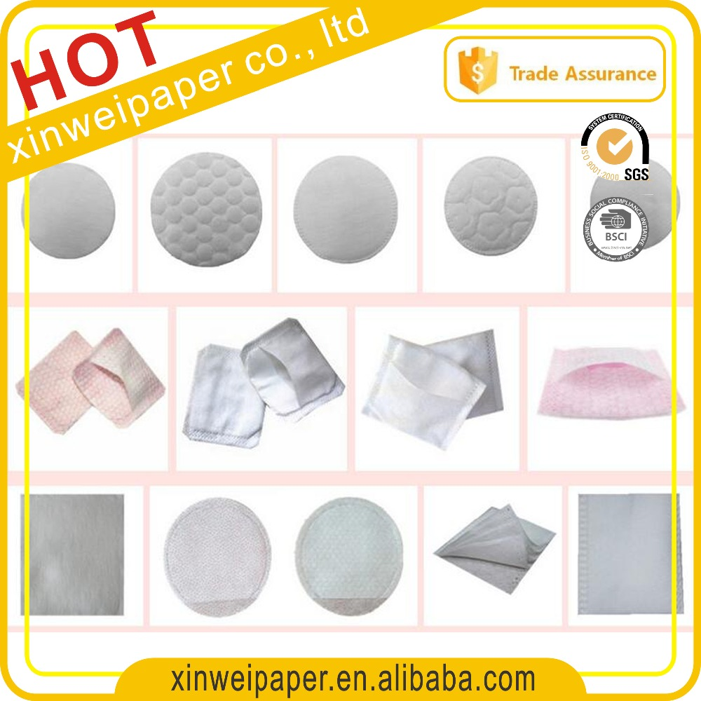 square round different design embossing cotton pad