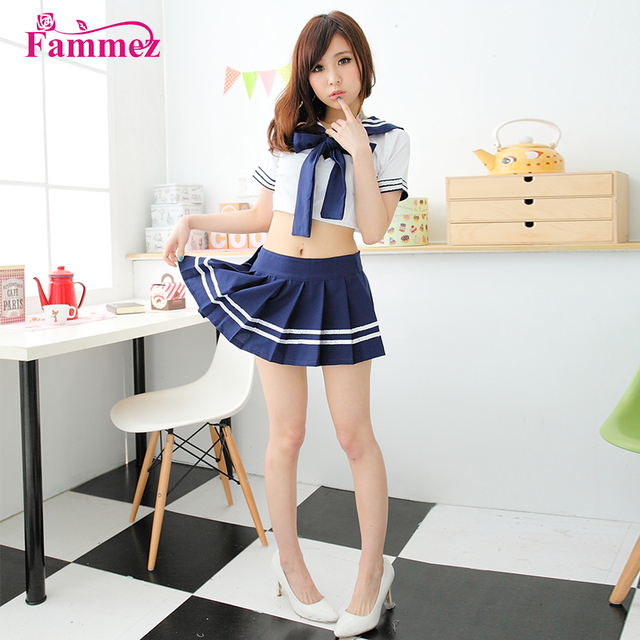 Latest DS091 japan naughty school girl costume sexy school girl costume for sale