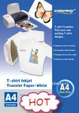t-shirt transparent photo paper