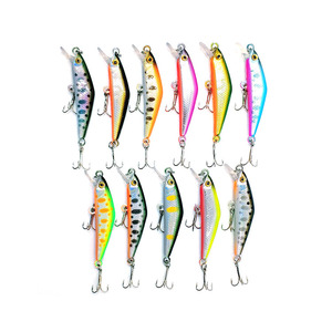 Custom Loge High Quality 5.3cm 4g Fishing Tackle Custom Wholesale Fishing Tackle