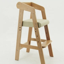 Good sale of wood material high chair baby use dining room <strong>furniture</strong>