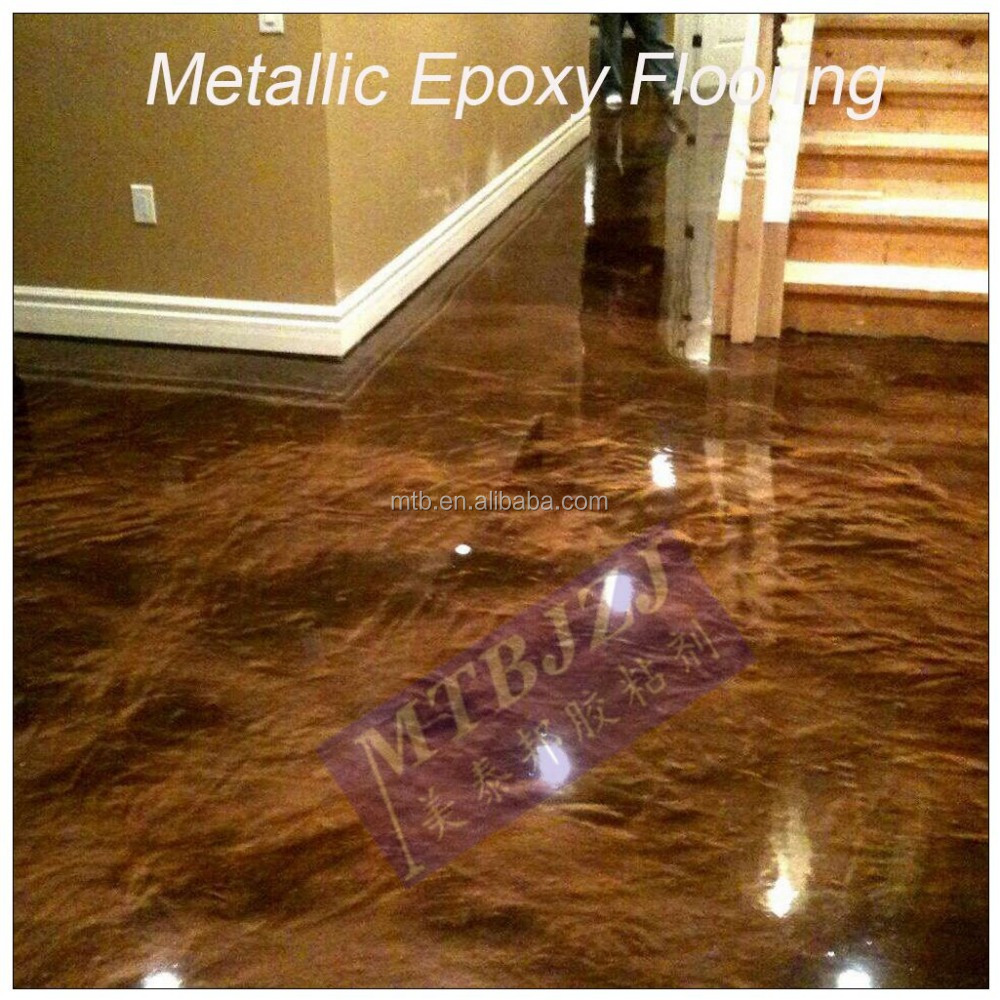 Metallic Epoxy Resin Flooring for Floor Coating and Painting
