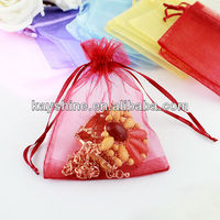 Fashion jewelry different style organza bag