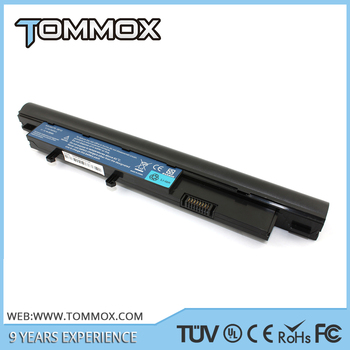 Tommox hot selling 11.1v 4400mah For Acer Mini Laptop Battery 3810 3810t Timeline 8371 8471 8571