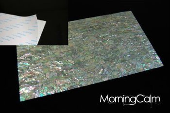 Prism Abalone Self-Adhesive Veneer Sheet (Mother of Pearl MOP Shell Overlay Inlay Luthier Nacre)
