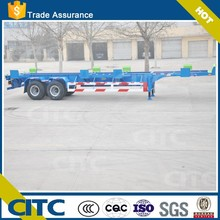 CITC brand 3 axles skeleton semi trailer made in China export to philippines products