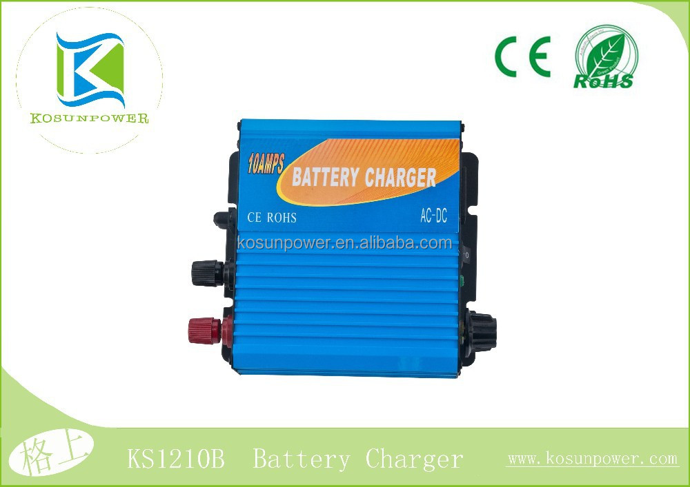 12V,10A Charger Three Stage Battery Charger