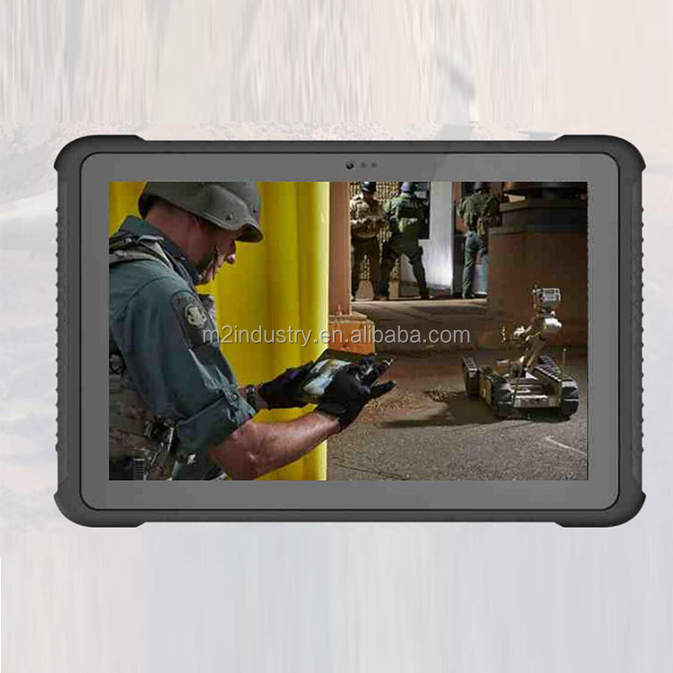 New 10inch Windows Rugged Tablet IP65 with Full USB HDMI RJ45 Port RS232 Docking Station PC Tablet Waterproof