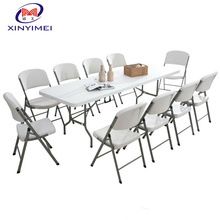 Plastic Folding Outdoor Furniture For 10 People