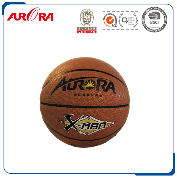 2016's new type basketball cool color colorful pu leather butyl bladder size 7