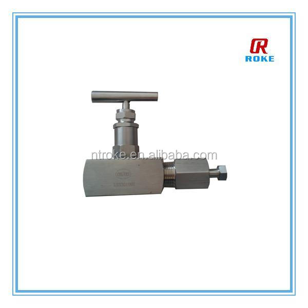 instrument needle and vent valve