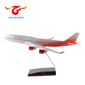 35/47cm Boeing B747 airplane model Rossiya airlines promotion model plane with stand