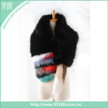Faux fur lady fashion scarves