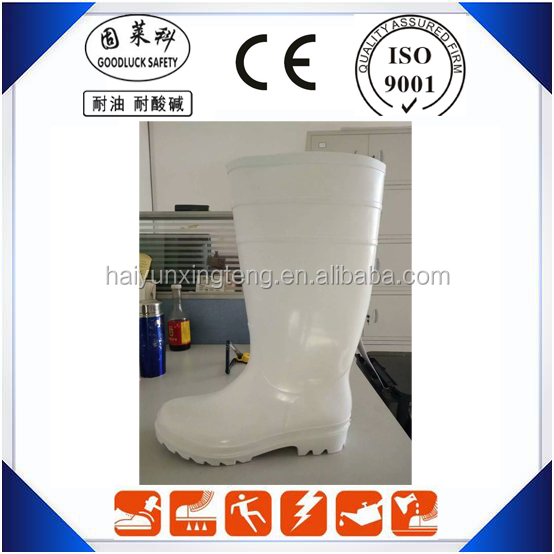 Workshop PVC Boots Heavy Duty PVC Knee High Boots