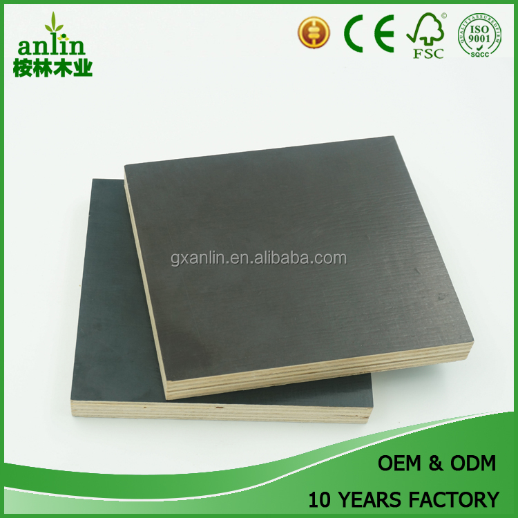 18mm Black Recycle Waterproof Film Faced Plywood With Low Price