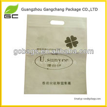 2016 Multi Colors Customized Die Cut Poly bag,Handle bag