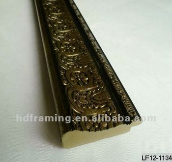 ps picture frame moulding/decorative picture frame moulding / PS moulding