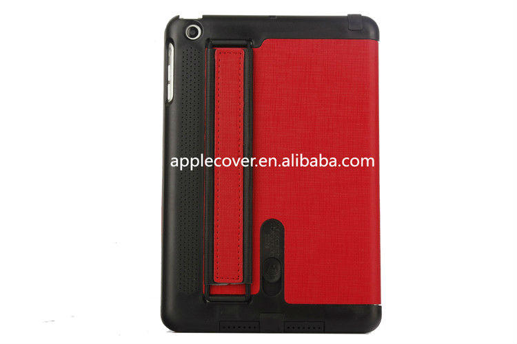 Good design Leather Case for iPad 1/2/3 with Speaker Function