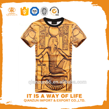 dry fit rock 60% cotton 40% polyester manufacture wholesale egyptian cotton t-shirts