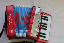 17K 8BS childred music toy Accordion,fun accordion