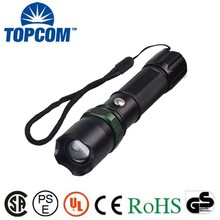 500 Lumens Q5 Zoom Swat LED Flashlight