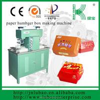 paper lunch box replace foam box making machine