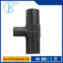 Reducing Tee Plastic Gas Pipe Compression Fitting