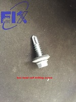 hex head screw with washer added5.5*25