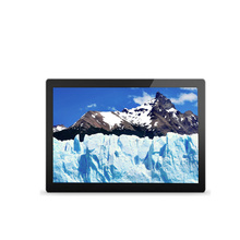 Waterproof 12 inch open frame touch screen monitor with 10 point for ATM