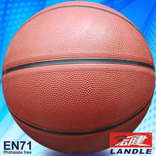 official size 7 rubber made nice strong any logo printed unmixed colours outdoor basketball