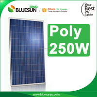 CHINA TOP 10 manufacture high quality solar panel module pv 250w with TUV CE