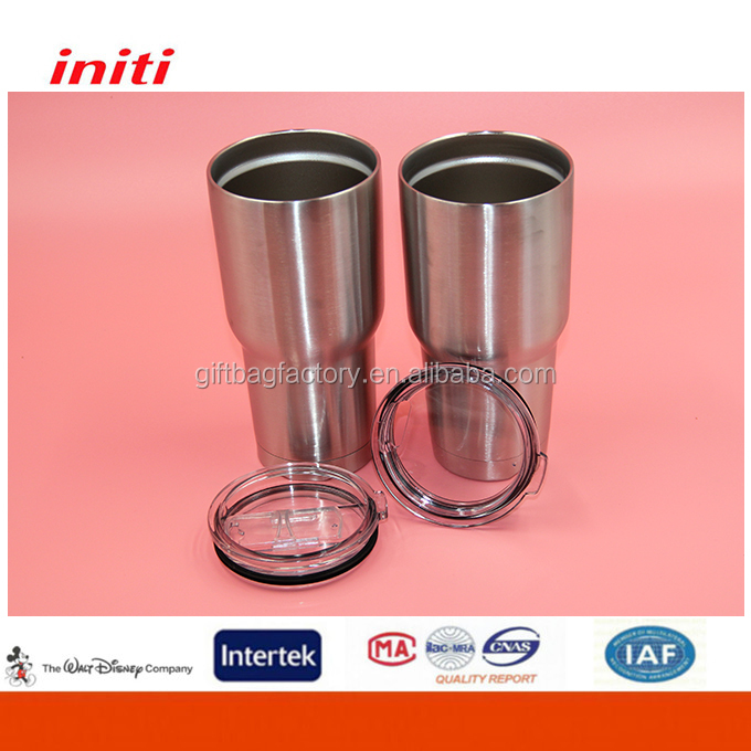 Free Sample Food Grade Double Wall Vacuum 20/30oz Tumbler <strong>Cups</strong>