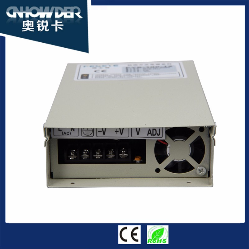Factory price Rainproof Series FYS-350 12V 29A 350W Best Switching Power Supply,Single Phase CCTV Switching Power Supply with CE