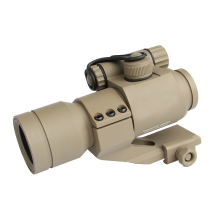 Hunting Riflescopes 1X32mm M2 Sighting Telescope Laser Gun Sight with Reflex Red /Green Dot Scope for Picatinny Rail TAN