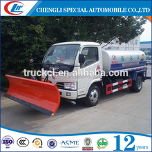 Factory Supply Snow Plow Truck with Snowplough for sale in Mongolia
