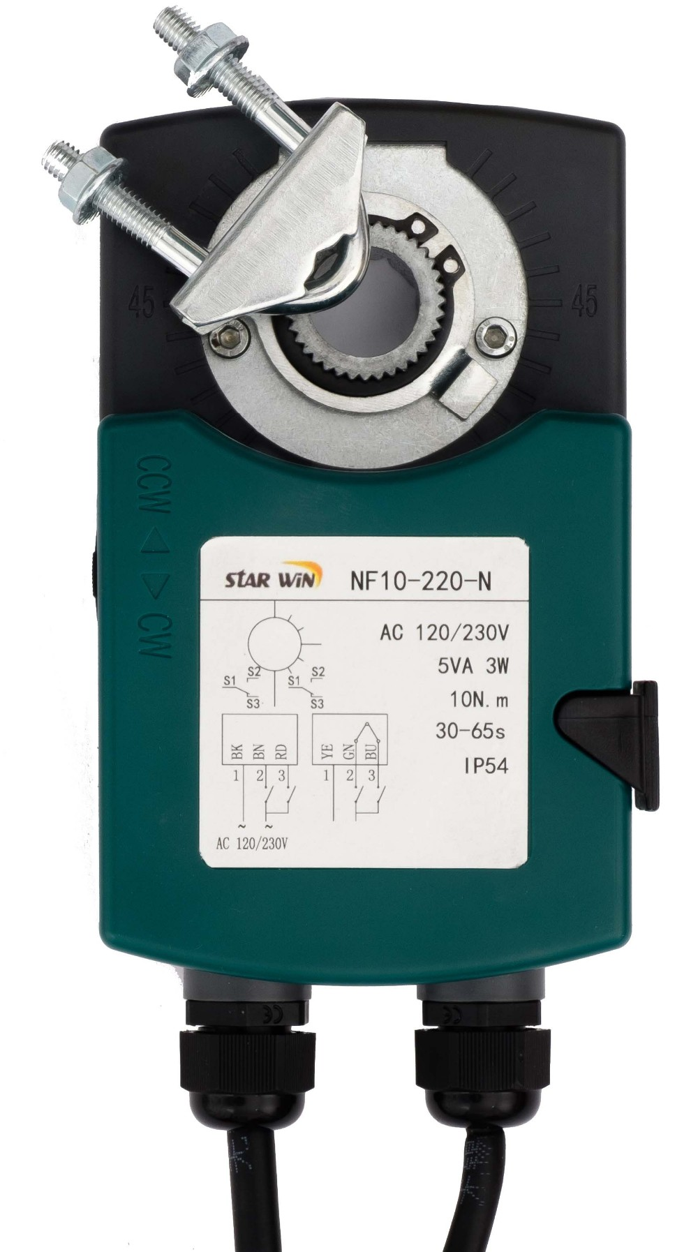 NF10-220-N damper actuator on/off control 10Nm