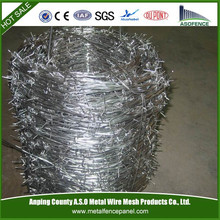 Galvanized Barbed Wire Length Per Roll
