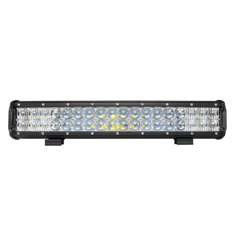 IP68 Double Row 10800lm 17inch 108W 5D Optic Rally Driving Light Bar LED For Off Road ATV Tow Trucks Vehicles
