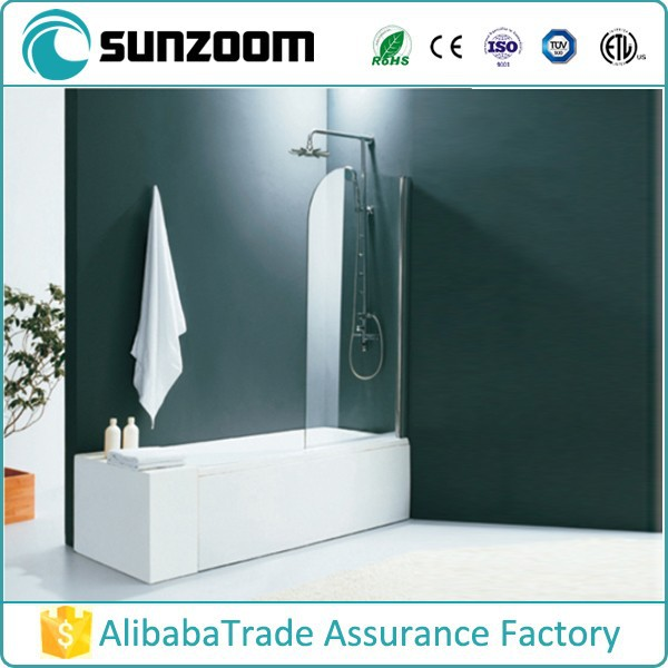 China supplier SUNZOOM bath shower cubicle, bath shower screen,bath and shower