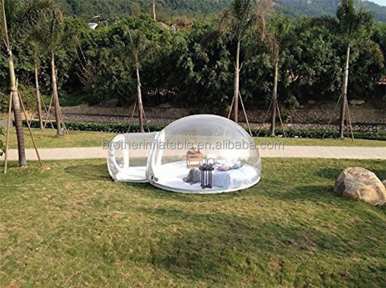 Good quality tiny houses Inflatable Bubble Dome Tent play tent Wedding Tents For Sale