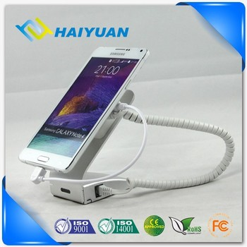 Universal standalone metal security display alarm stand for handset