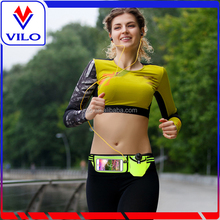 Water Resistant Sports Armband with LED night light bag amazon hot selling waist bags for running