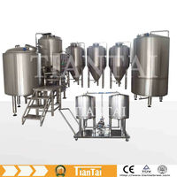 Complete 100L-1000L Stainless Steel Home Brew Equipment