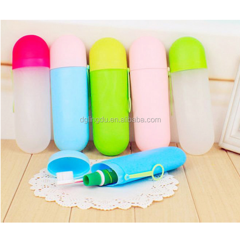 New arrivel plastic toothbrush head protective case
