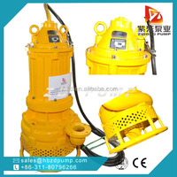 submersible mining industry dewatering slurry pump with agitator