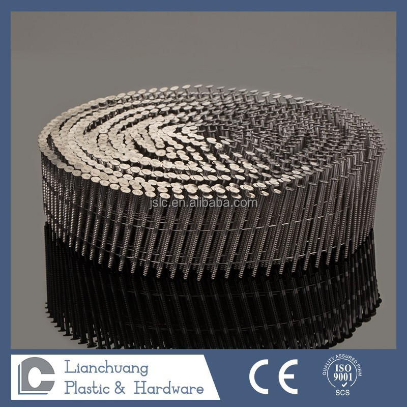 Stainless steel Twist Shank /Ring shank Coil nail,art nail