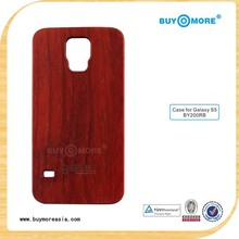 real wooden case for samsung galaxy s5,cell phone cover